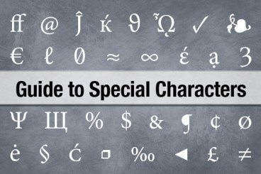 The Complete Guide to Special Characters