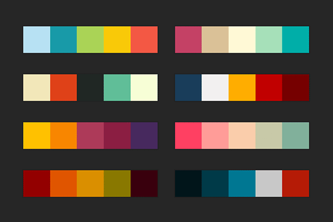 Graphic Design Color Schemes