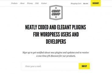 Neatly Coded, Elegant WordPress Plugins From Chop-Chop.org