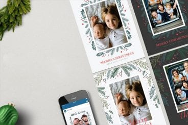 20+ Best Christmas Card Templates for Photoshop