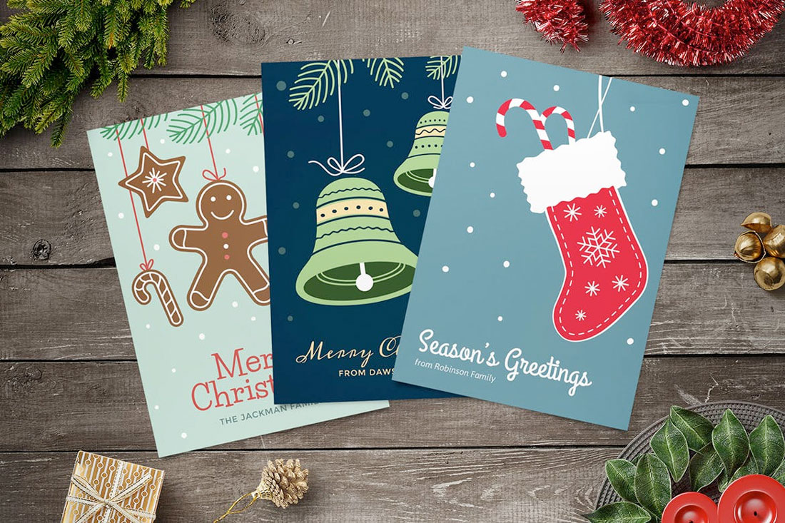 christmas-cards Christmas Graphic Design: 5 Tips for Classy Festive Design design tips