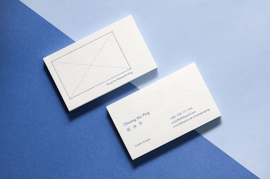 chuang What to Put on a Business Card: 8 Creative Ideas design tips