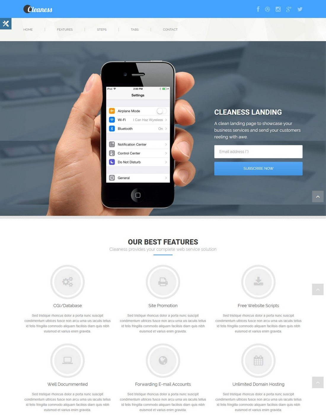 20 minimal bootstrap templates web design online for Website that allows you to design a room