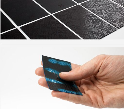 Business Card A Heat Activated Color Changing Is Even Cooler If You Know Of Printer That Can Actually Make These Let Me In The Comments