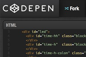 Meet CodePen: Dribbble for Coders