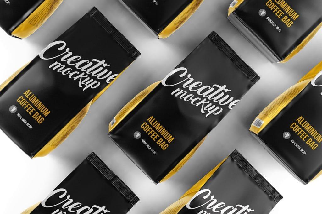 coffee-bag-mockups-11-1024x683 20+ Coffee Bag Mockup Templates (Free & Premium) design tips