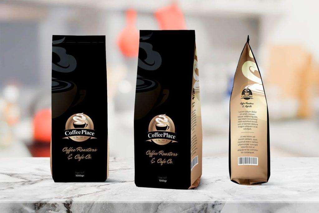 coffee-bag-mockups-20-1024x683 20+ Coffee Bag Mockup Templates (Free & Premium) design tips