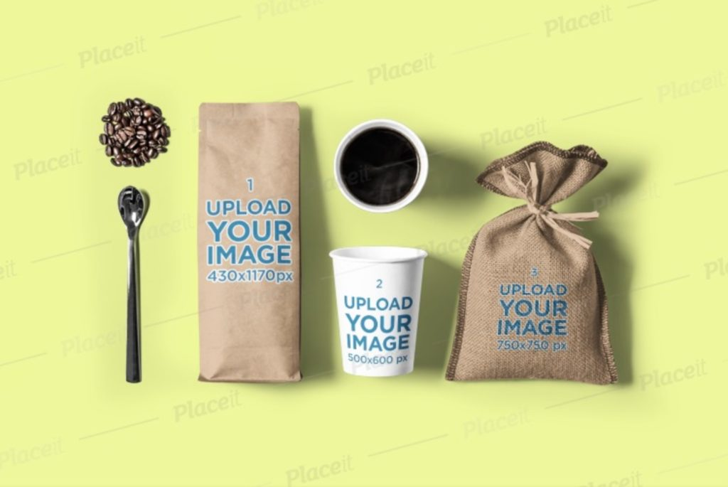 coffee-bag-mockups-4-1024x685 20+ Coffee Bag Mockup Templates (Free & Premium) design tips