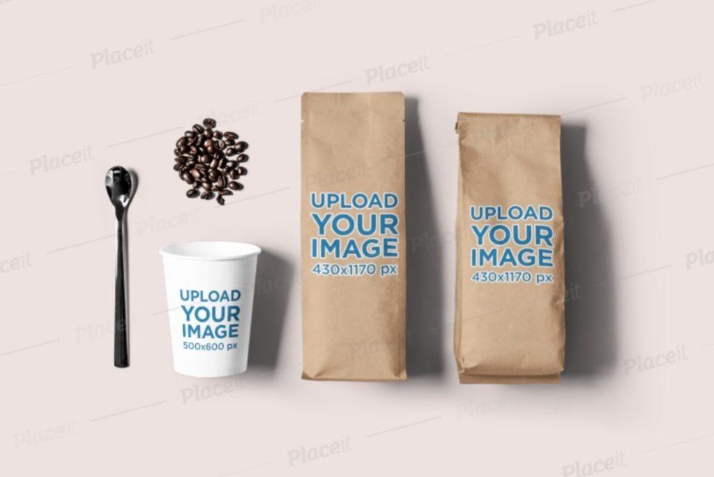 coffee-bag-mockups-5-1024x685 20+ Coffee Bag Mockup Templates (Free & Premium) design tips