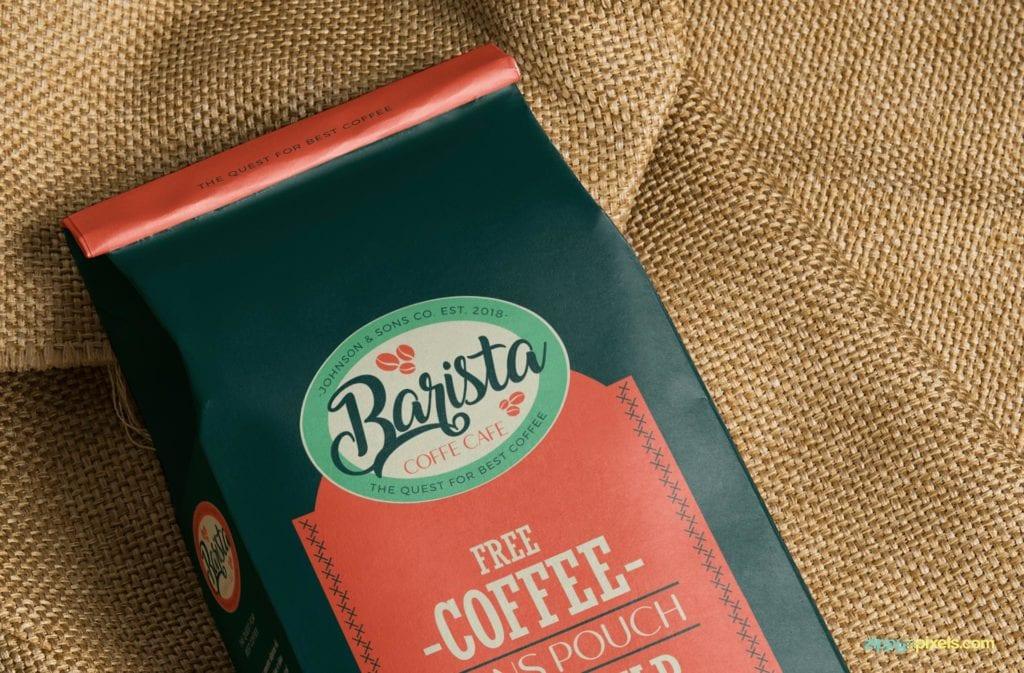 coffee-bag-mockups-9-1024x673 20+ Coffee Bag Mockup Templates (Free & Premium) design tips