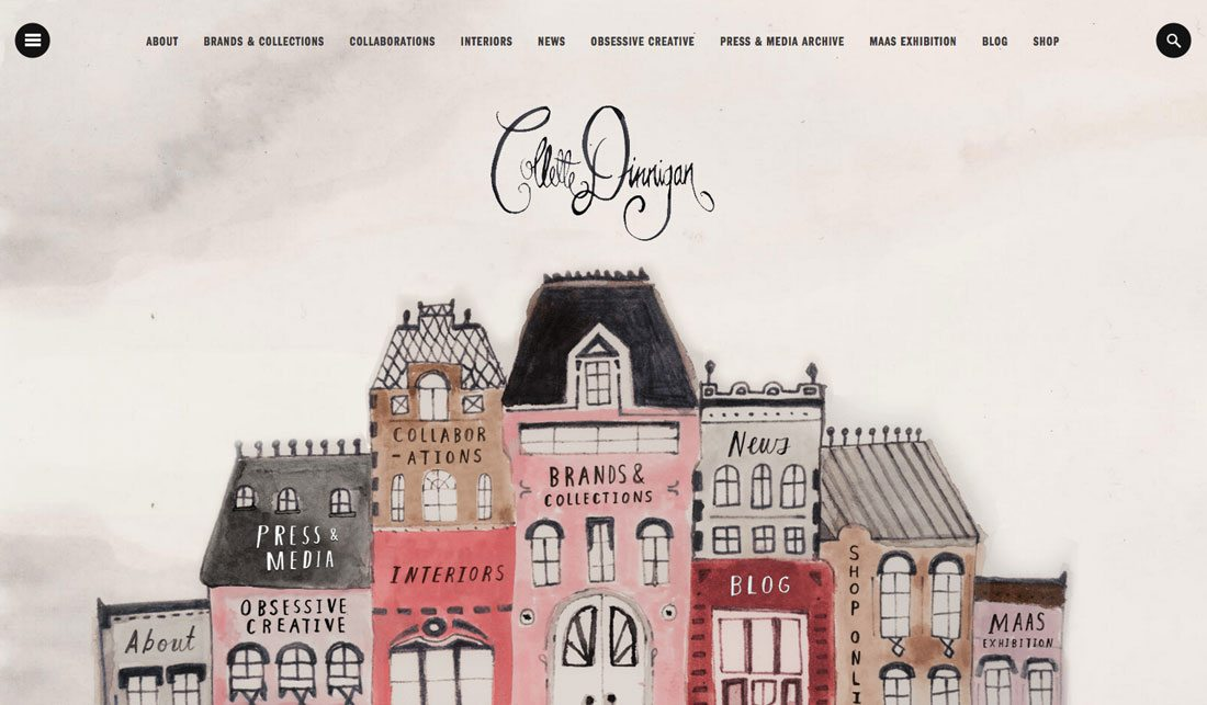collette Design Trend: Using Watercolor Patterns in Web Design design tips
