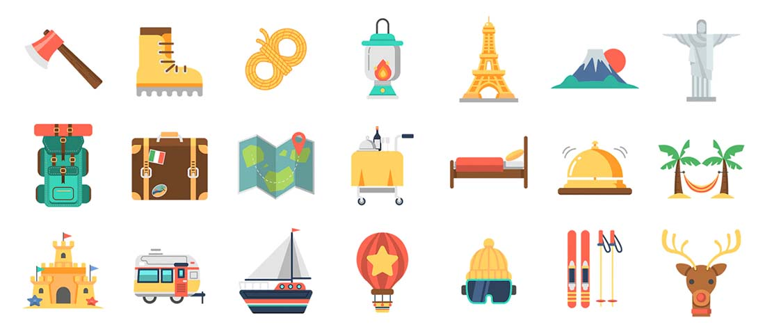 color-icons The Design Anatomy of a Good Icon: 10 Tips design tips