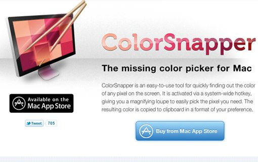 Colorsnapper for Mac OSX