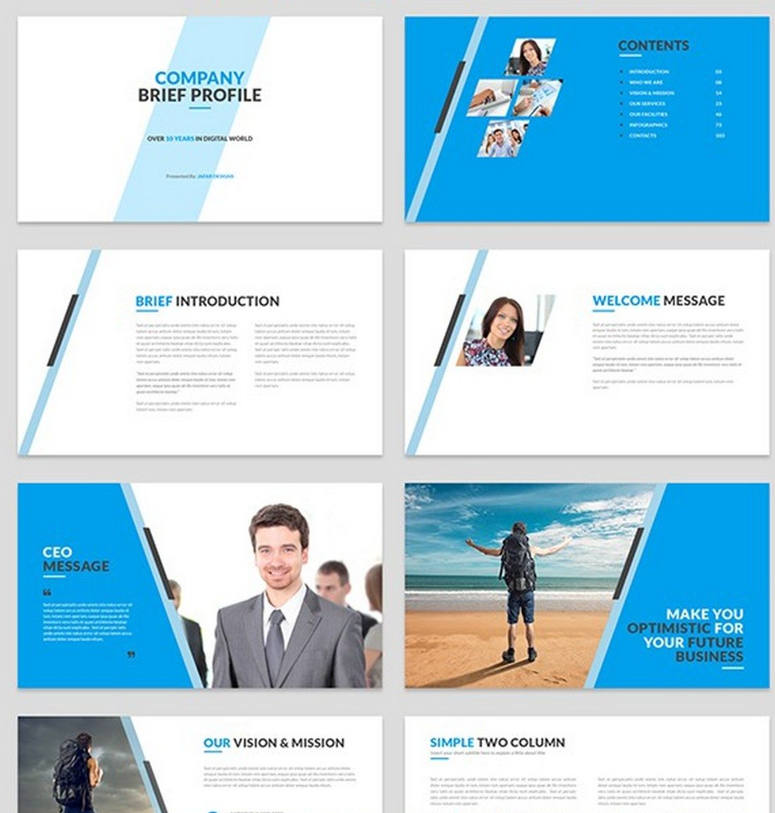 company-profile 30+ Best Keynote Templates of 2018 design tips