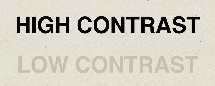 text-contrast