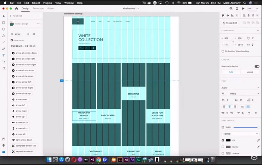 create a simple wireframe