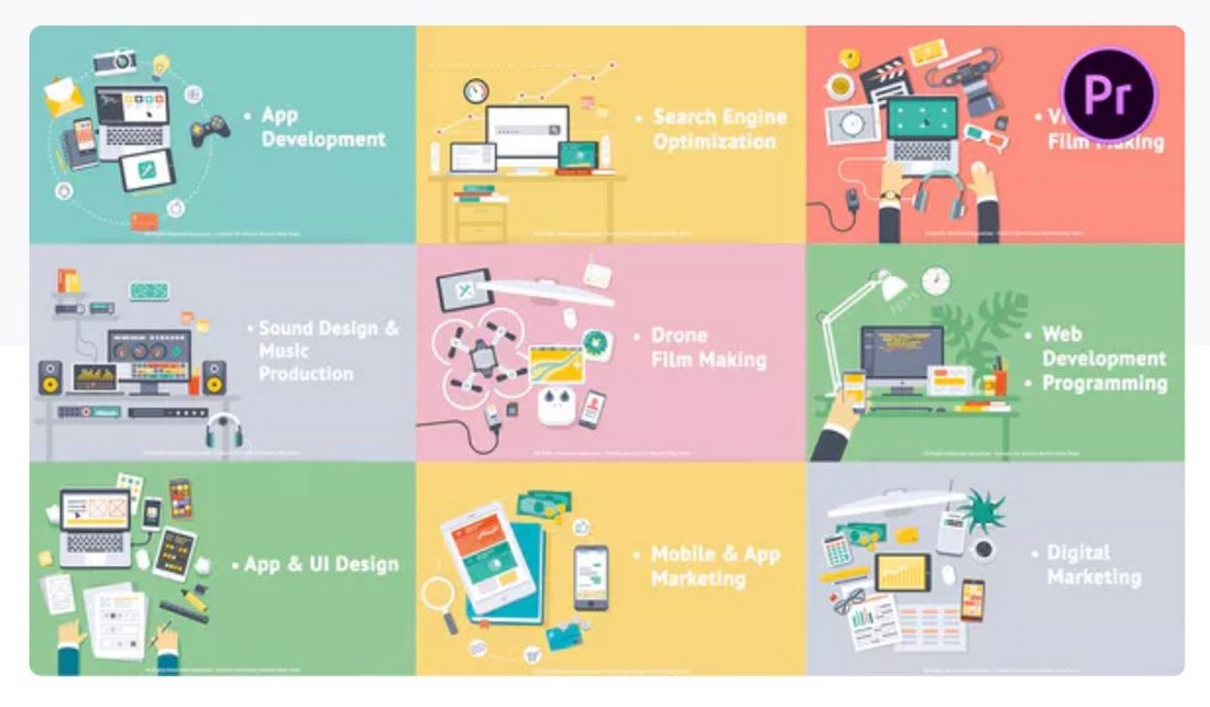 creative-process-premiere-pro-template 30+ Best Premiere Pro Templates 2019 design tips