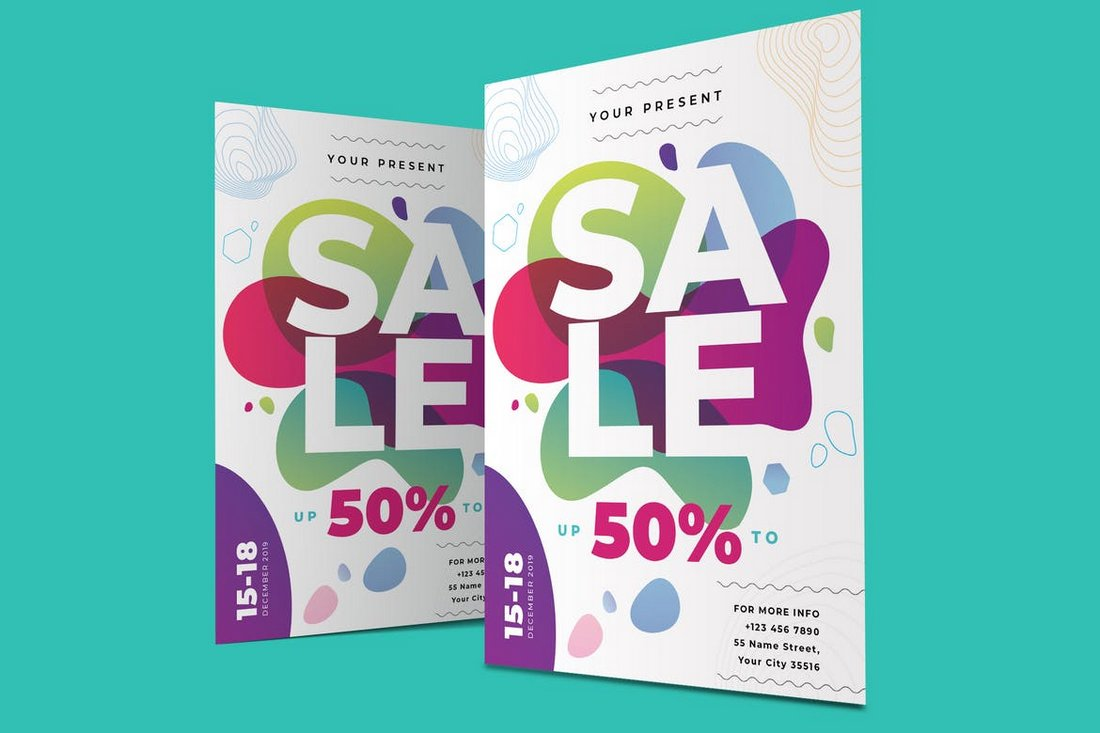 creative-sale-poster 30+ Best Poster Mockup Templates 2021 design tips