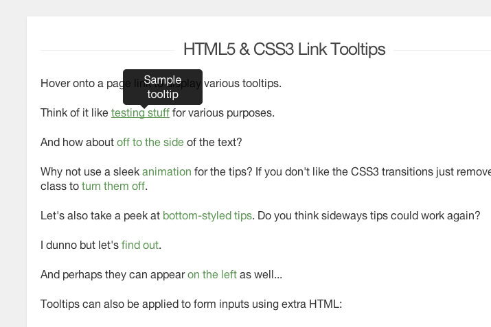 tutorial screenshot pure css3 anchor tooltips
