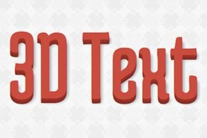 Super Sweet CSS 3D Text Effects With Sass and LESS