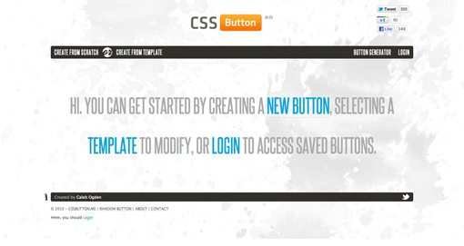 Cssbuttonapp-1 in Create Amazing CSS Buttons on the Fly With CSSButton.Me