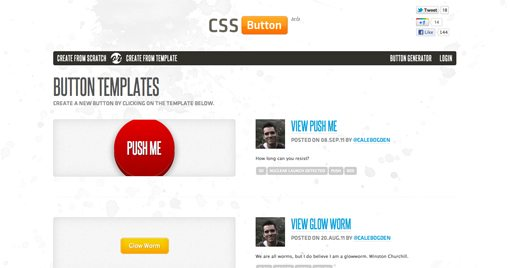 Cssbuttonapp-14 in Create Amazing CSS Buttons on the Fly With CSSButton.Me