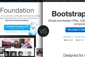 Framework Fight: Zurb Foundation vs. Twitter Bootstrap