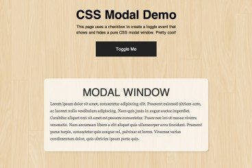Build an Adaptive CSS Modal Window
