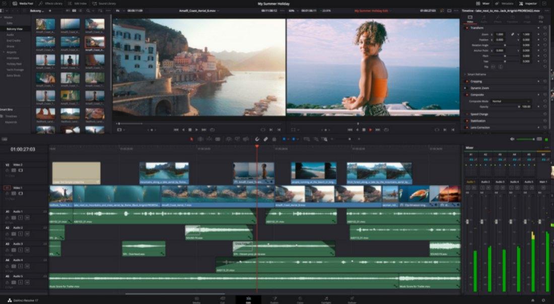 davinci-resolve-2 5 Best iMovie Alternatives (For Mac & Windows) 2021 design tips