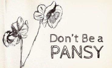Don't Be a Pansy: Great Design Is About Making Decisions