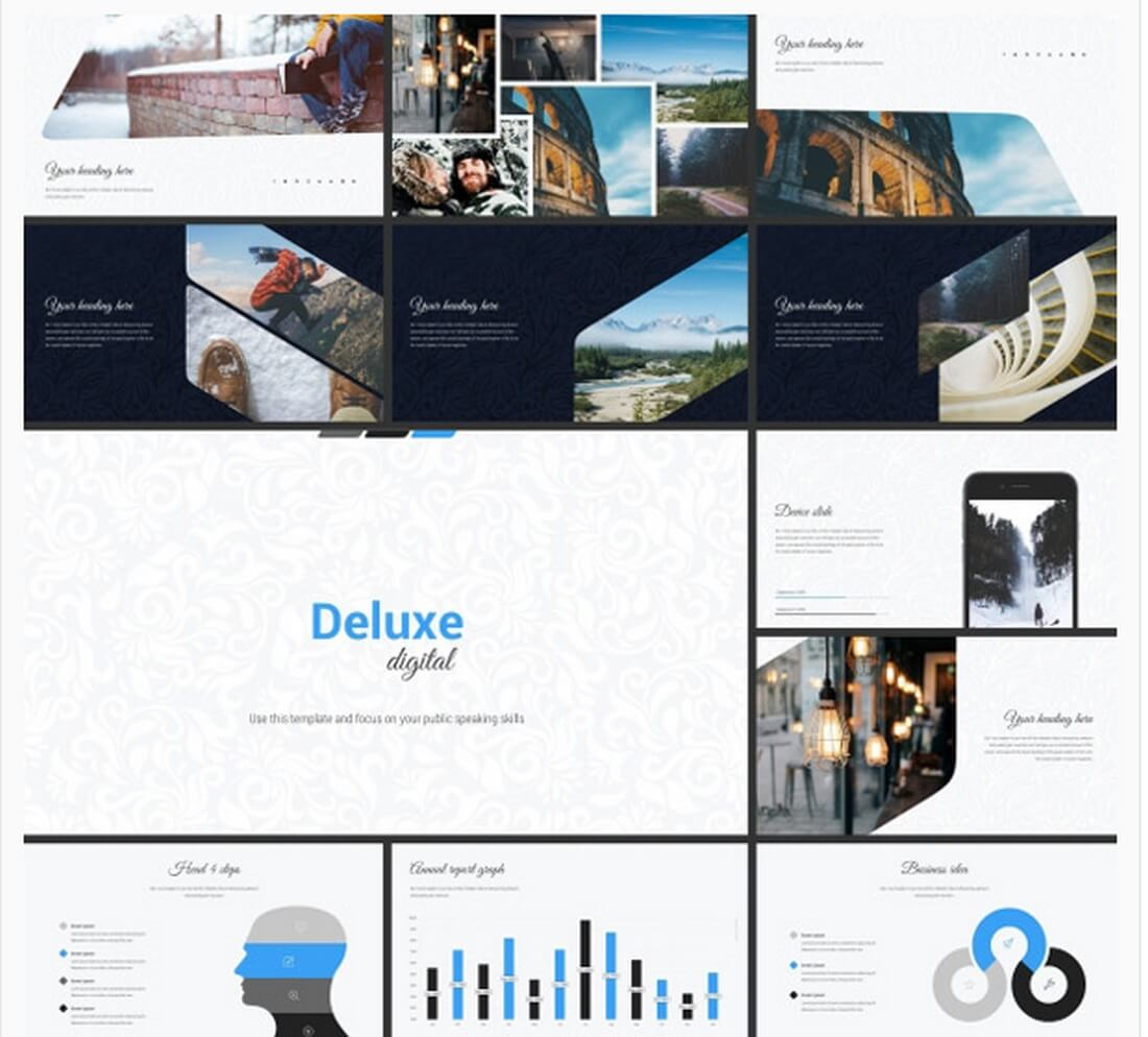 deluxe 30+ Best Keynote Templates of 2018 design tips