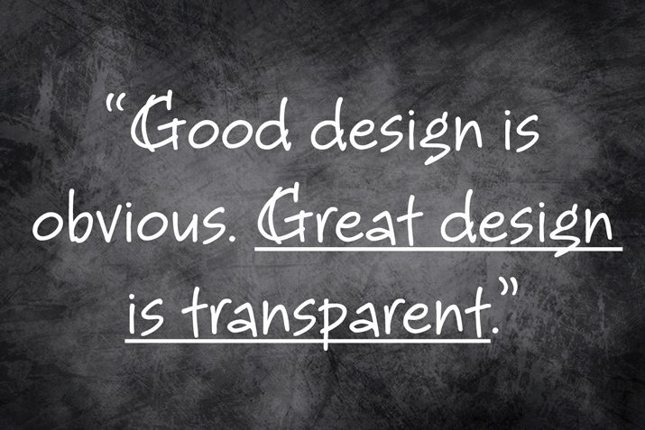 great design is transparent joe sparano graphic designer for