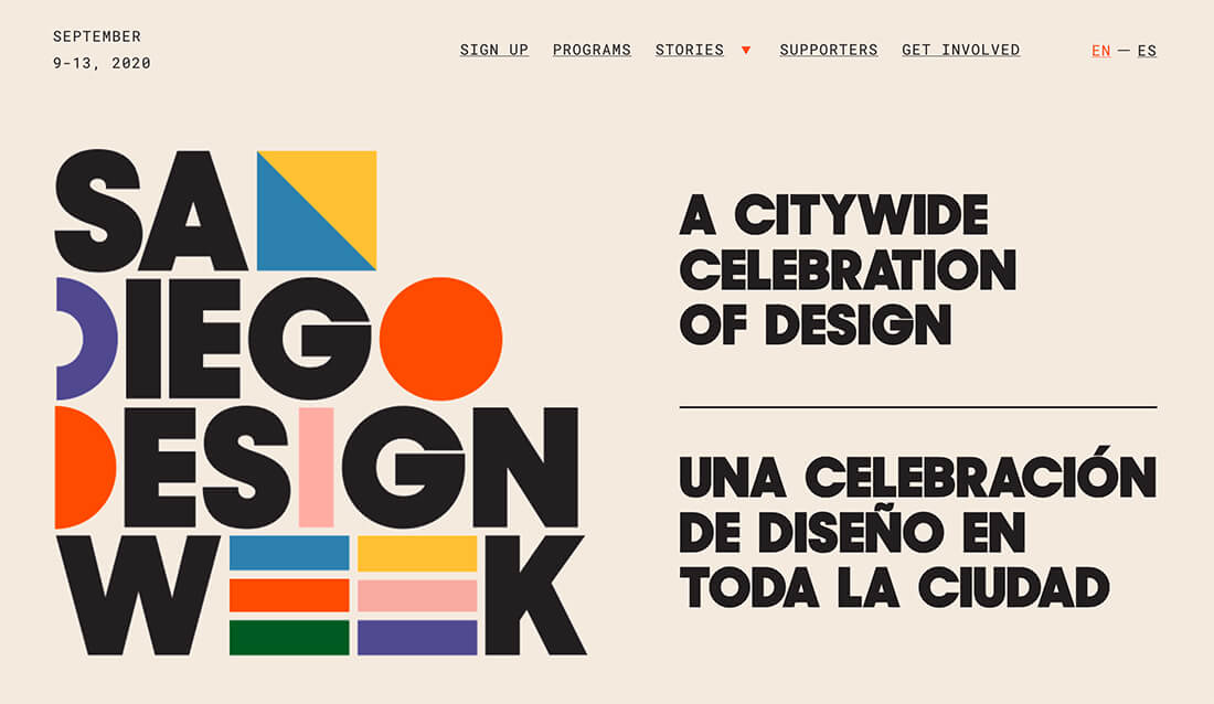 design-week-1 15+ Key Logo Design Trends of 2020 design tips