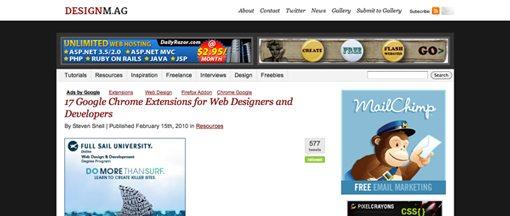 100 blogs de diseño recomendados