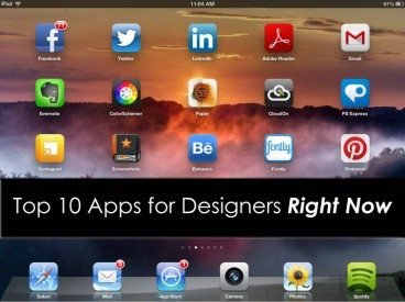 Top 10 Apps for Designers Right Now