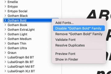 How to Uninstall Fonts on Windows & Mac