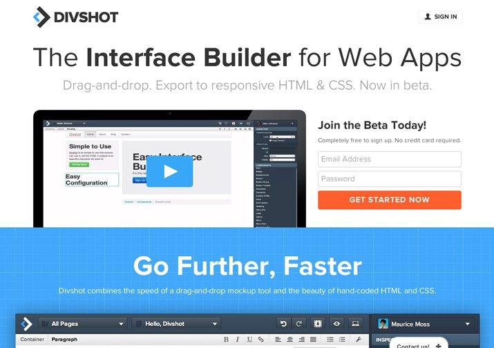 Divshot: An Awesome Way to Design and Build Bootstrap Pages