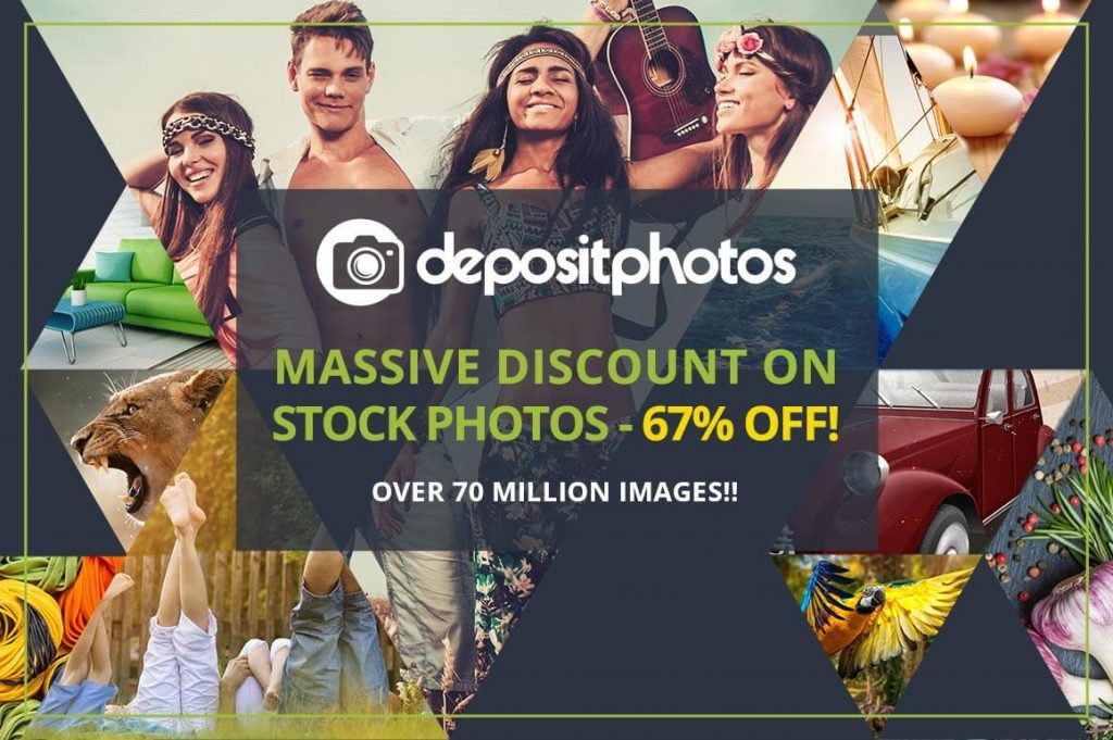 Get 67% Off Depositphotos This Month 2