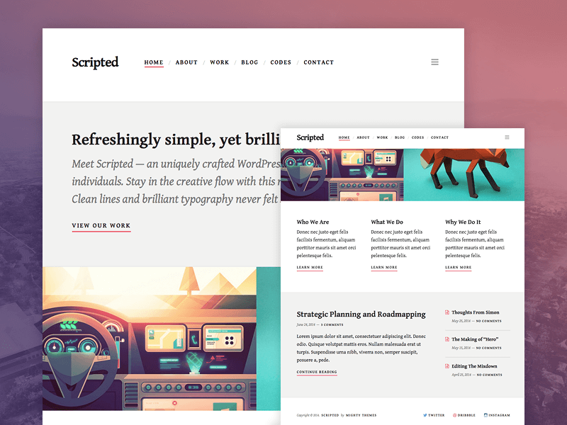 dribbble-scripted-o
