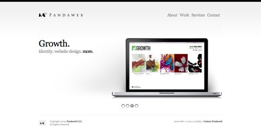pandaweb studio simple website design ideas