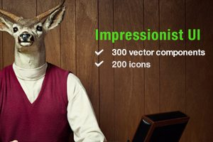 Win One of Three Copies of the Massive Impressionist UI Pack