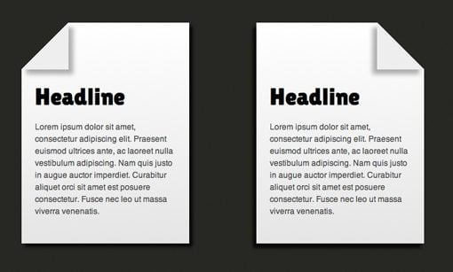 Code a Simple Folded Corner Effect With CSS | Design Shack