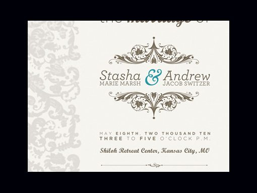 50 wonderful wedding invitation card design samples design shack wedding invite close up by josh sullivan stopboris Gallery