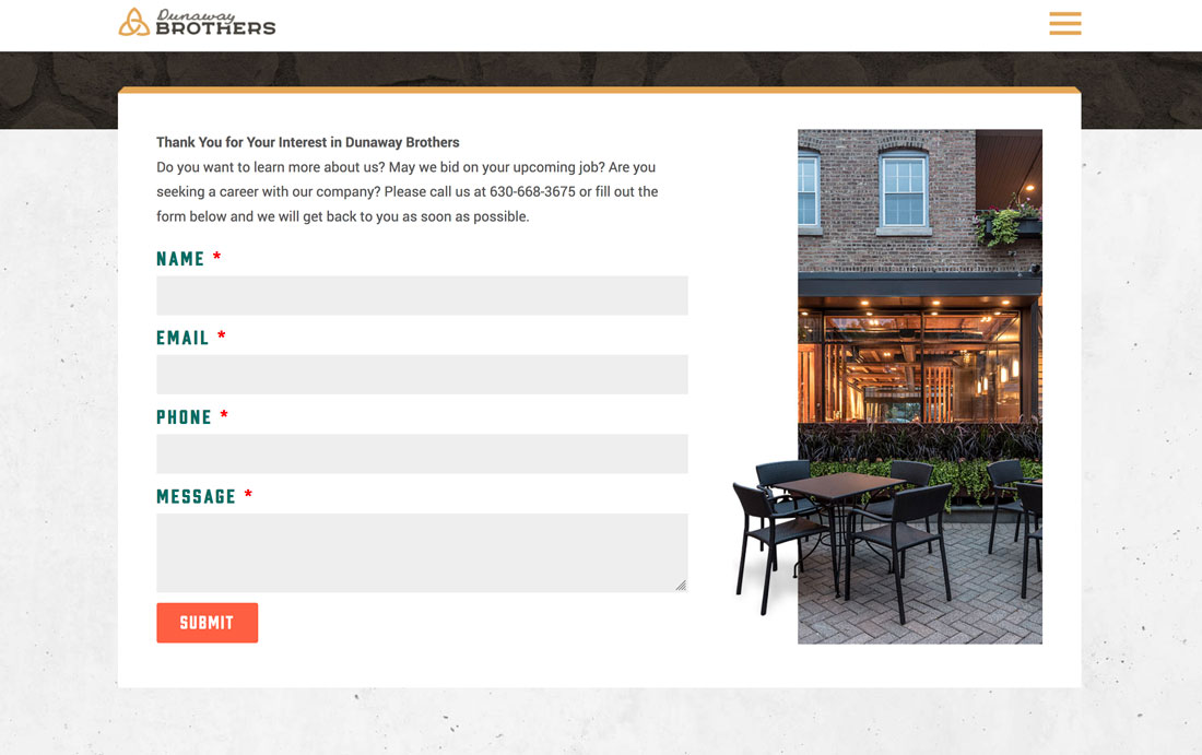 dunaway 7 Tips for Better Contact Form Design (With Examples) design tips