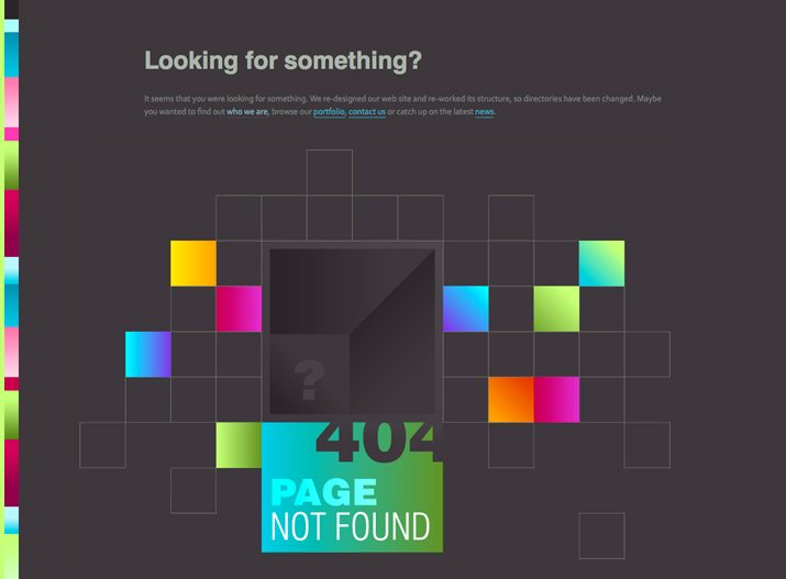 What Makes a Great 404 Error Page? | Design Shack
