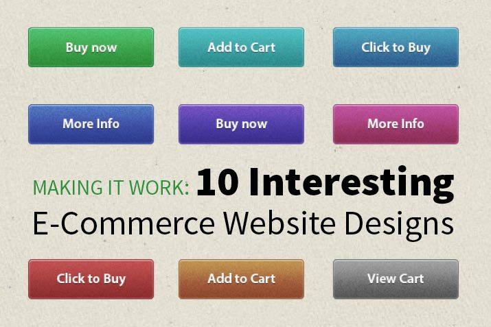 E Commerce Website Design 10 Interesting Examples Design Shack