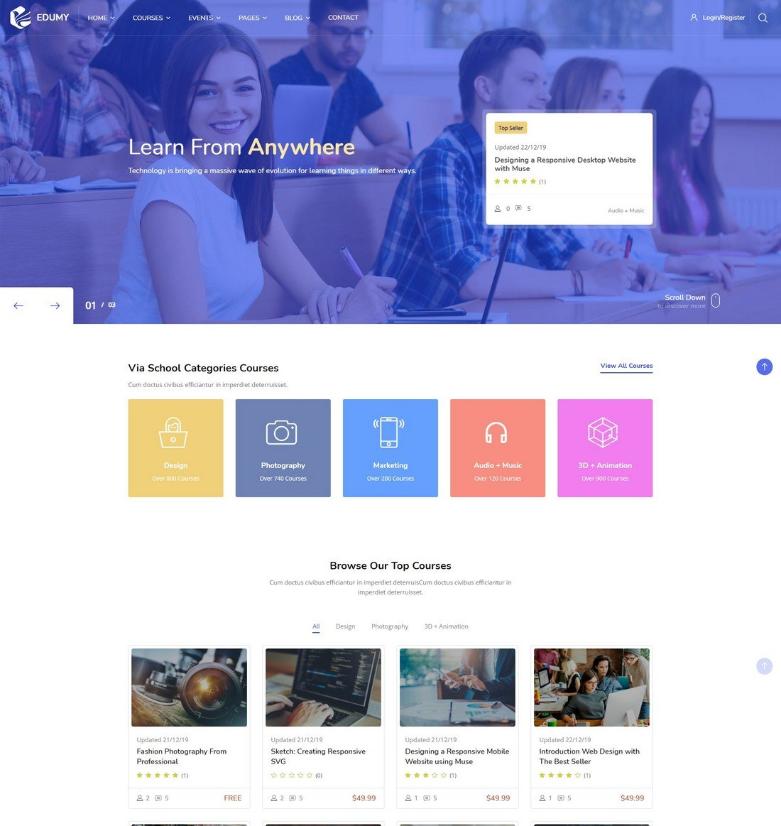 edumy-moodle-theme