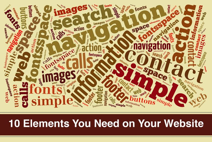 website elements