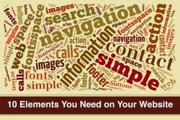 10 Crucial Elements for Any Website Design