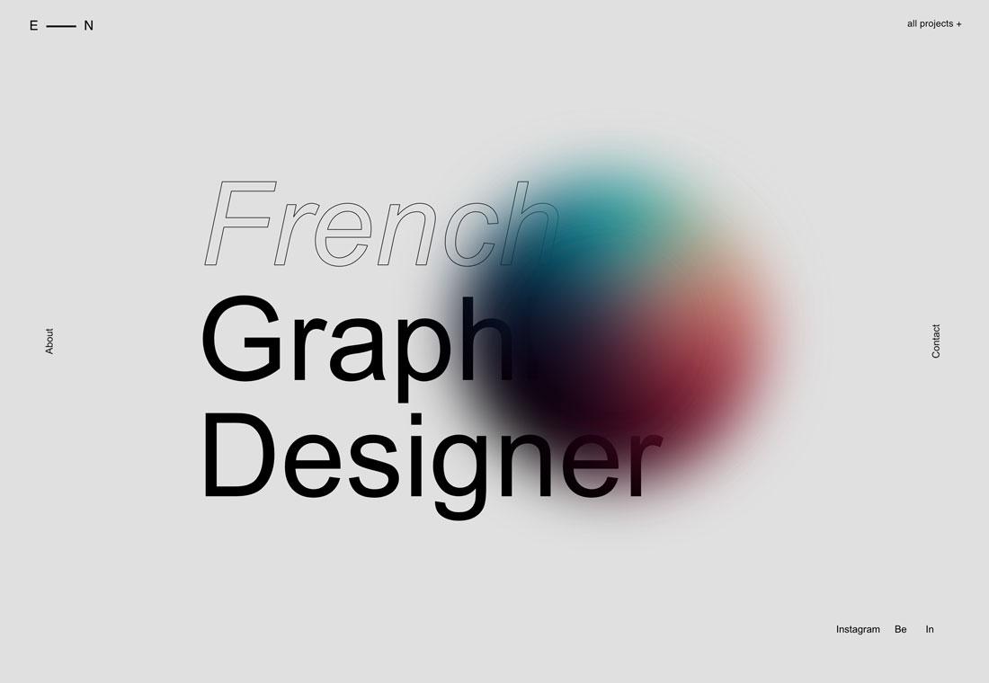 elyse 20+ Portfolio Design Trends in 2020 design tips